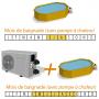Pompe à chaleur + Housse de protection OFFERTE