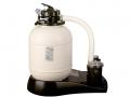Filtration à sable FA6050 débit 5 m3/h Manomètre pour vérifier la pression et vanne multi positions Norme NF P90-318