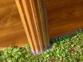 Poteaux et margelles en acier