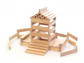 Baril 300 bûchettes de construction