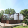 Serre de jardin à l'ancienne - Serre Amboise