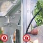 Serre en verre trempé vénus 500 LAMS - Serre de jardin