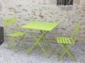 Table vert anis