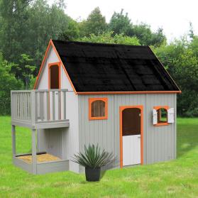 Maisonnette bois DUPLEX - SOULET