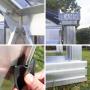 Serre en verre trempé Lams LUXIA 11,80 m² - Aluminium naturel