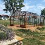 Serre en verre trempé Lams SUPRA 27,80 m² - Coloris au choix