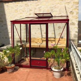 Serre adossée Lams LUXIA 3,57 m² - Coloris au choix
