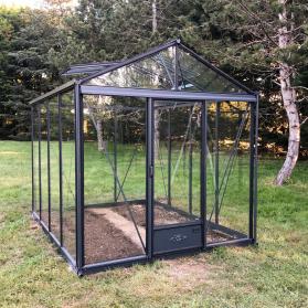 Serre en verre trempé Lams LUXIA 7,30 m² - Coloris au choix