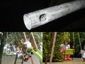 Tubes des vis-à-vis et balancelles en acier galvanisé garanti anti-corrosion pour une sécurité totale