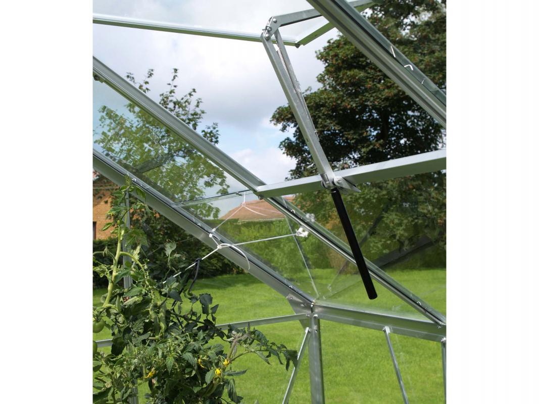 Ouverture automatique simple ressort pour lucarne de toit - Pieces detachees pour serre de jardin ...