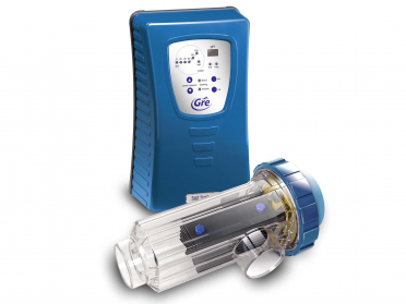 Électrolyse au sel pour piscines enterrées jusqu'à 80 m³ avec contrôle PH