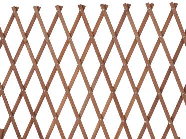 Treillage extensible en pin lasuré L.1,80 x H. 0,30 m x P. 8 mm