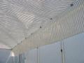 Toile avec bande alu - 2 bandes alu - Largeur 3.50 m - (Mini 3ml)
