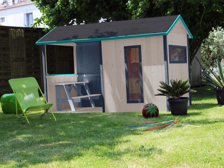 maisonnette bois jazz soulet. Black Bedroom Furniture Sets. Home Design Ideas