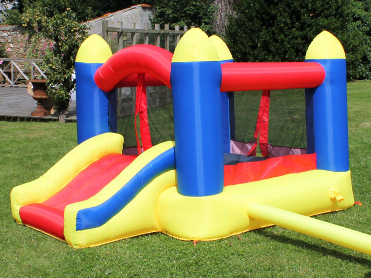 Un château gonflable pour s'amuser !