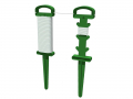 Cordeau de jardin en PVC + ficelle