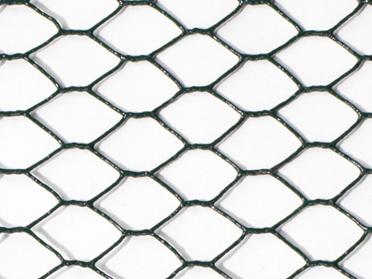 Grillage mailles plastifiées hexagonales - 25 mm