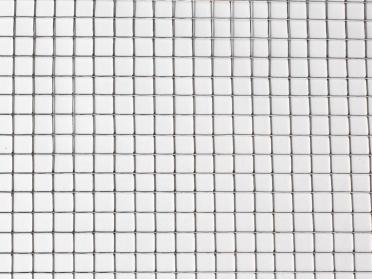 Grillage mailles galvanisées carrées - 6,4 mm