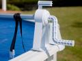 Enrouleur classique pour piscine hors-sol