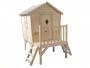 Maisonnette en bois brut à personnaliser