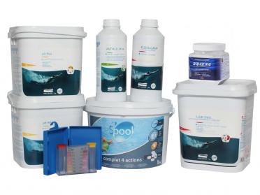 Kit traitement de l'eau - 0 à 5m³