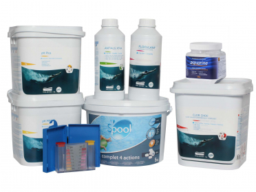 Kit traitement de l'eau - 10 à 20m³