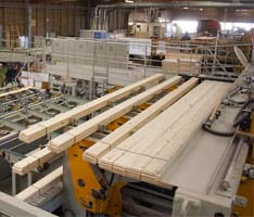 Fabrication des madriers