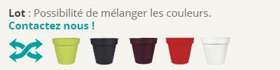 Choix des couleurs pot first