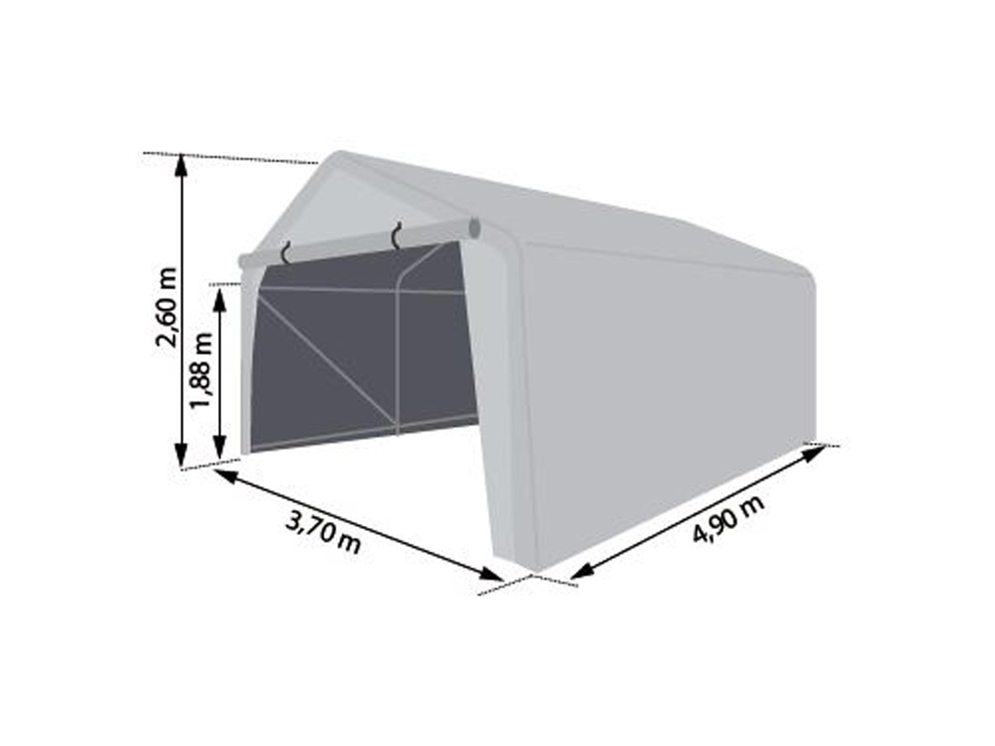 dimensions carport 18m2