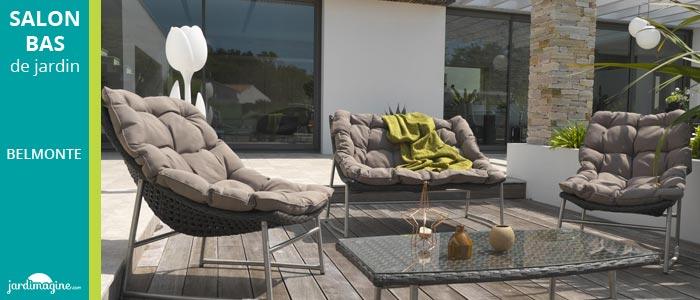 salon de jardin avec coussins moelleux pour toujours plus de confort