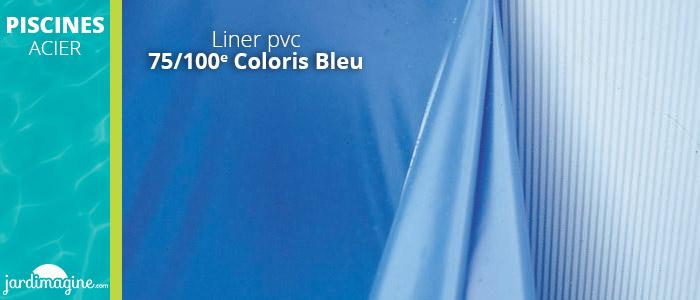 Liner 75/100e piscine acier gré