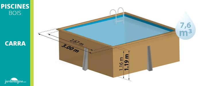 petite piscine hors sol 3 x 3