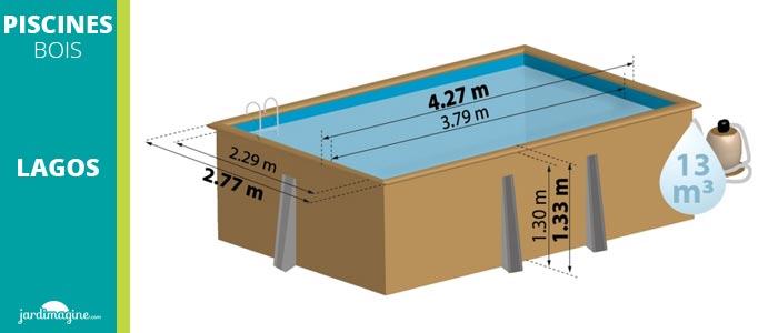 Schema piscine en bois hors sol lagos