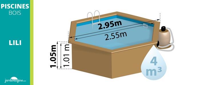 piscine hors sol diamètre 3m