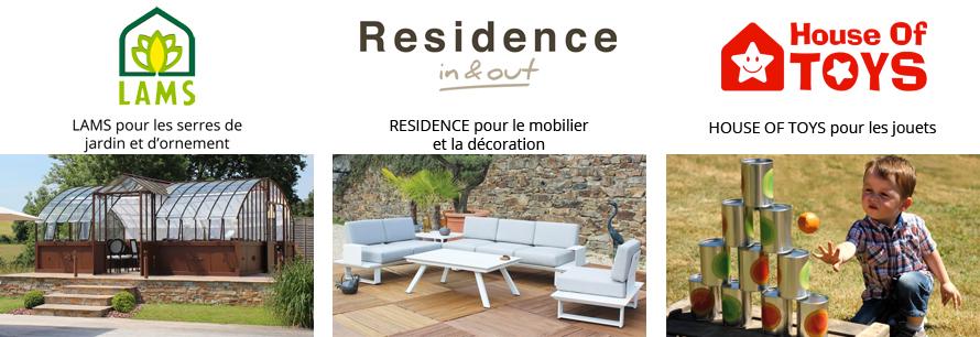 Lams Résidence et House of toys, des marques EGT Jardimagine
