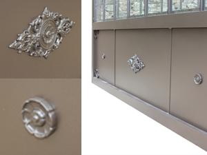 décoration base aluminium serre de jardin