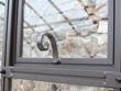 Lucarne arrière serre de jardin dos vitré