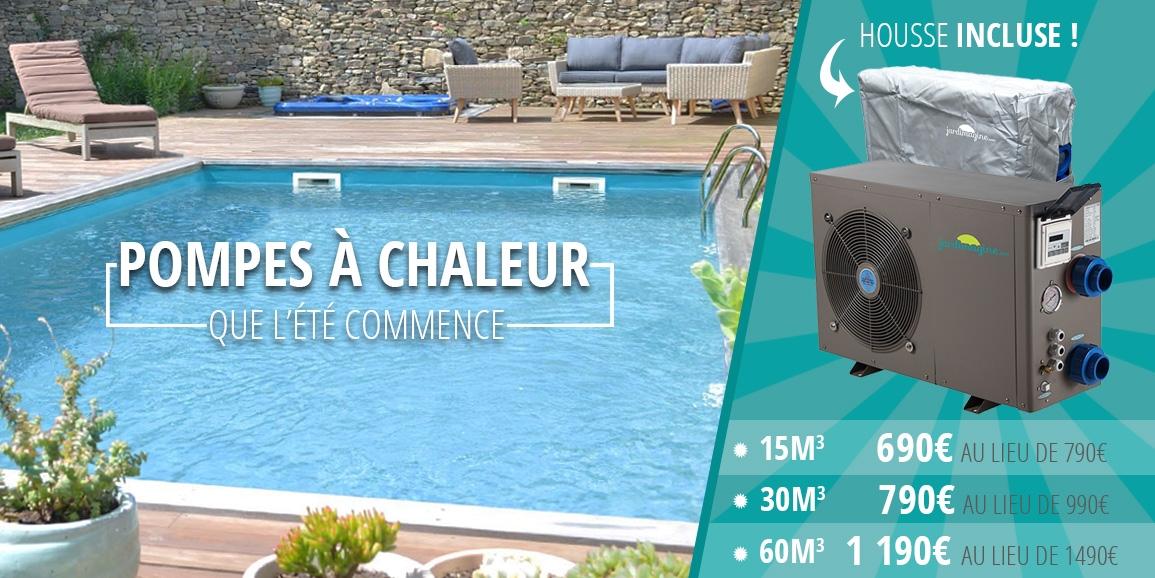 Pompe à chaleur piscine jusqu'à 500€ de réduction
