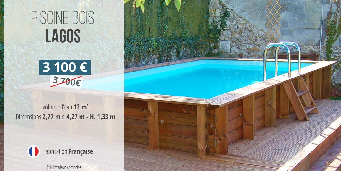 Promotion piscine bois lagos