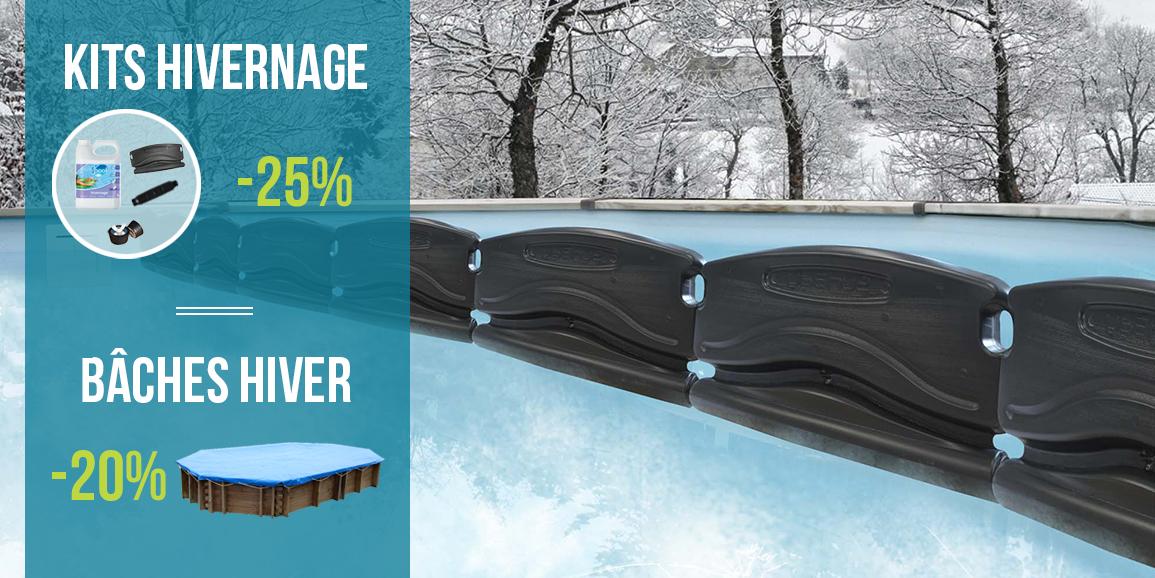 hivernage piscine bois
