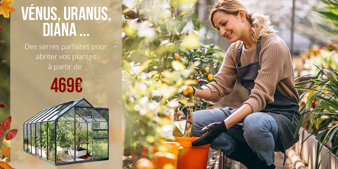 Promotion serres de jardin 3 mm