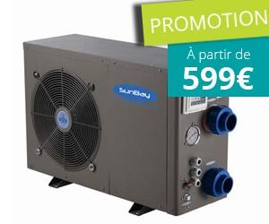 Jusqu'à 800€ de réduction sur les pompes à chaleur pour piscine