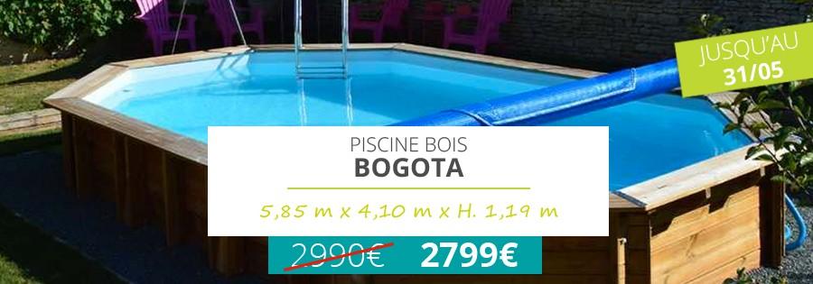 Promotion sur le piscine bois bogota